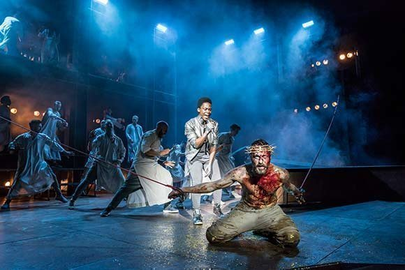 jesus christ superstar original show research Background and analysis essay on the jesus christ superstar new line theatre  in the original text of luke, jesus says take this and drink it among yourselves .